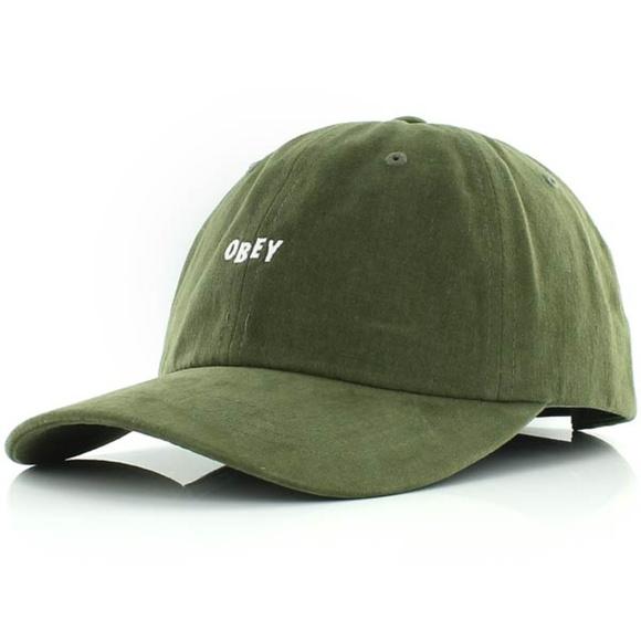 OBEY VISOR CURVE MAN JUMBLE BAR III 6 PANEL HAT abd1d0b1ea03